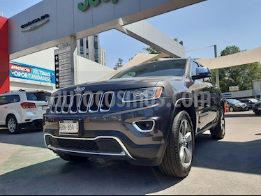 Jeep Grand Cherokee Limited 3.6L 4x2 usado (2015) color Granito precio $384,000