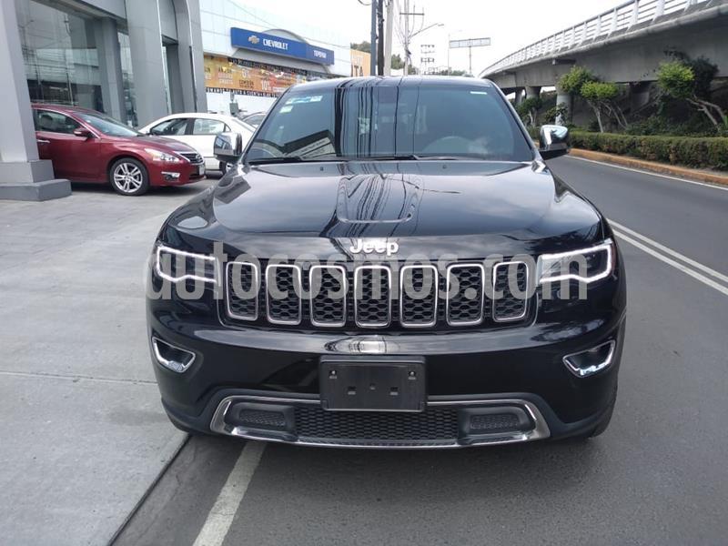 Jeep Grand Cherokee Limited Lujo 3.6L 4x2 usado (2018) color Negro precio $590,000