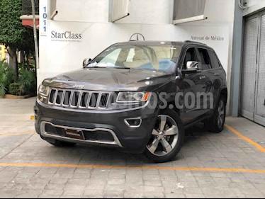 Jeep Grand Cherokee Limited 4x2 3.6L V6 usado (2015) color Gris precio $350,000