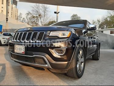 Jeep Grand Cherokee Limited Lujo 3.6L 4x2 usado (2015) color Negro precio $350,000