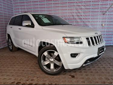 Foto venta Auto usado Jeep Grand Cherokee Overland 4.7L (2014) color Blanco precio $380,000