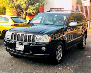 Foto venta Auto Seminuevo Jeep Grand Cherokee 4x4 Overland 5.7L V8 Tech Group (2006) color Negro precio $118,000