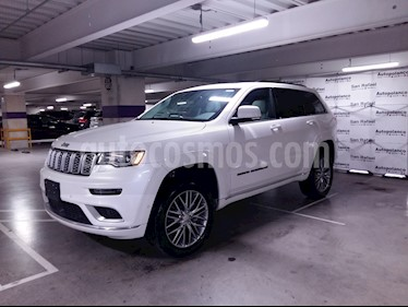 Foto venta Auto usado Jeep Grand Cherokee Summit 5.7L 4x4 (2017) color Blanco precio $749,000