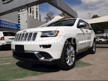 Foto Jeep Grand Cherokee Summit 5.7L 4x4 usado (2015) color Blanco precio $490,000