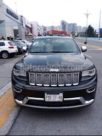 Foto venta Auto usado Jeep Grand Cherokee Summit 5.7L 4x4 (2014) color Negro precio $450,000