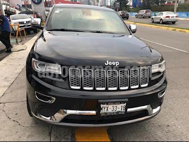 Foto venta Auto usado Jeep Grand Cherokee Summit 5.7L 4x4 (2015) color Negro precio $529,000