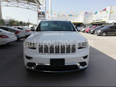 Foto venta Auto Seminuevo Jeep Grand Cherokee Summit 5.7L 4x4 (2015) color Blanco precio $550,000
