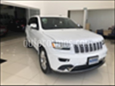 Jeep Grand Cherokee Summit 5.7L 4x4 usado (2015) color Blanco precio $508,000