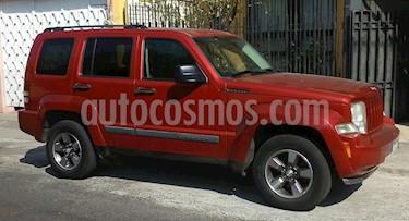 Jeep Liberty Limited 4x2 usado (2008) color Rojo precio $130,000