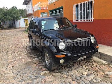Jeep Liberty Limited 4X4 usado (2003) color Negro precio $70,000