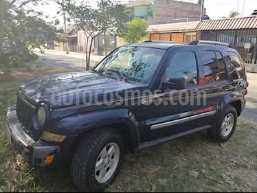 Jeep Liberty Limited 4X2 usado (2007) color Azul precio $85,000