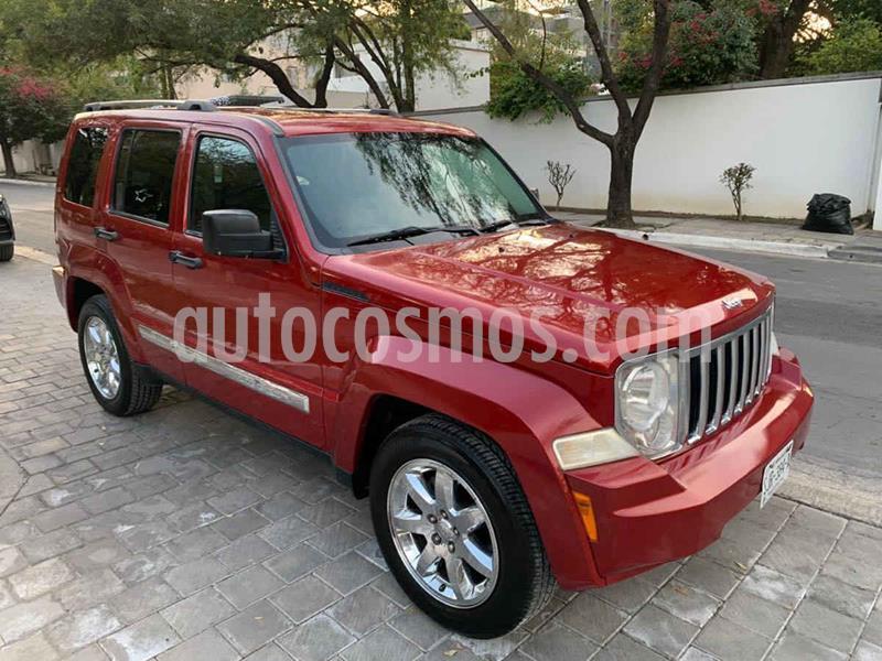 Jeep Liberty Limited 4X2 usado (2009) color Vino Tinto precio $179,900