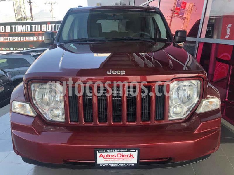 Jeep Liberty Sport 4X2 usado (2008) color Rojo precio $139,000