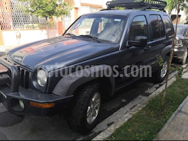 Jeep Liberty Sport 4X4 usado (2002) color Azul precio $76,000