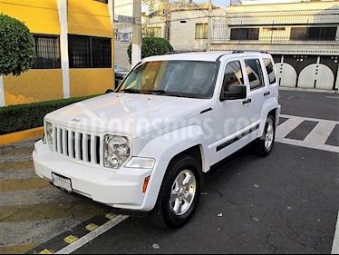 Jeep Liberty Sport 4x2 Piel  usado (2013) color Blanco precio $169,900