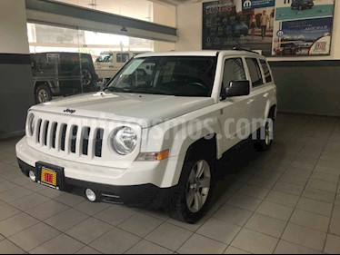 Foto venta Auto usado Jeep Patriot 4x2 Latitude Aut  (2016) color Blanco precio $240,000