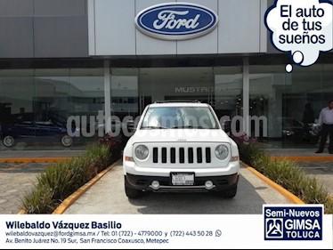 Foto venta Auto usado Jeep Patriot 4x2 Limited (2013) color Blanco precio $177,000