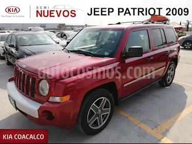 Foto venta Auto usado Jeep Patriot 5p Limited CVT 4x2 Q/C (2009) color Rojo precio $149,000