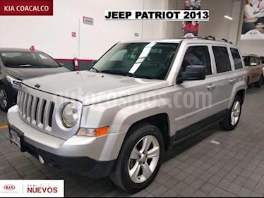 Foto venta Auto usado Jeep Patriot 5p Limited L4/2.4 Aut (2013) color Plata precio $199,000
