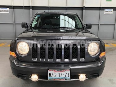 Jeep Patriot 5P LIMITED CVT VE6 CD PIEL QC GPS usado (2016) color Gris precio $275,000