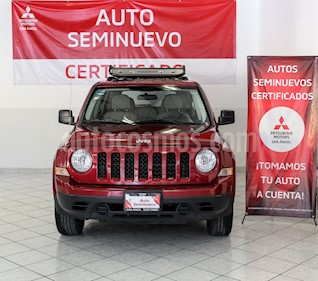 Jeep Patriot 4x2 Sport CVT usado (2014) color Rojo Cerezo precio $185,000