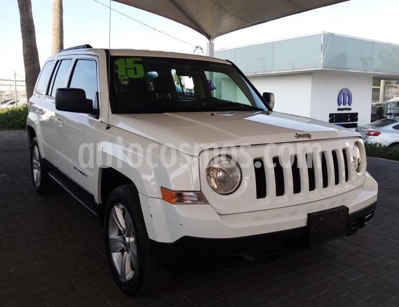 Jeep Patriot 4x2 Sport CVT usado (2015) color Blanco precio $185,000