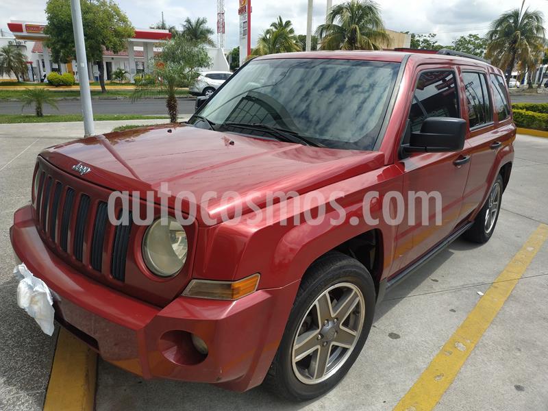 Jeep Patriot 4x2 Sport Aut usado (2009) color Rojo Cerezo precio $115,000