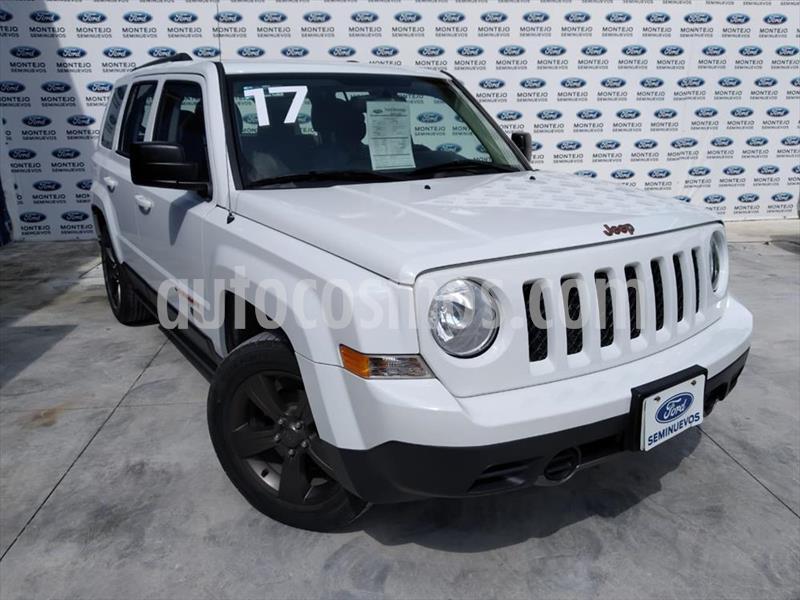 Jeep Patriot 4x2 Edicion 75 Aniversario Aut usado (2017) color Blanco precio $250,000