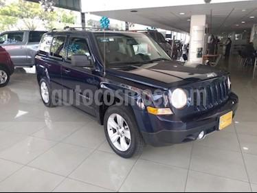 Jeep Patriot 5P LIMITED CVT VE 6 CD PIEL QC usado (2013) color Azul precio $170,000