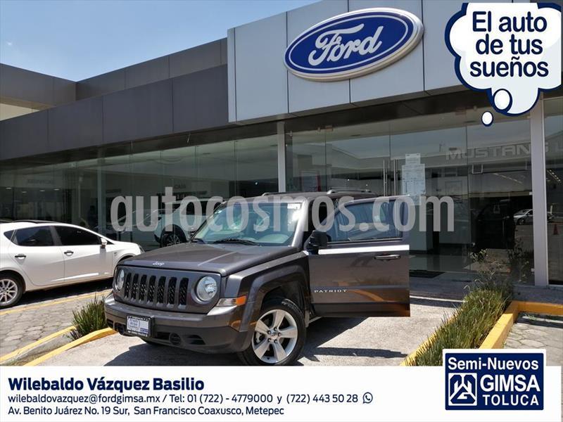Jeep Patriot 4x2 Sport Aut usado (2017) color Gris Oscuro precio $228,000