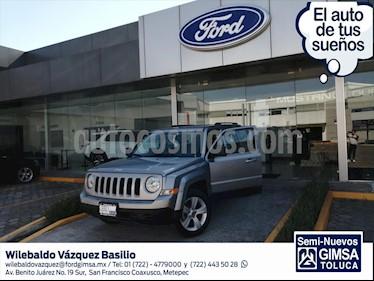 Jeep Patriot 4x2 Sport usado (2016) color Gris Oscuro precio $192,000