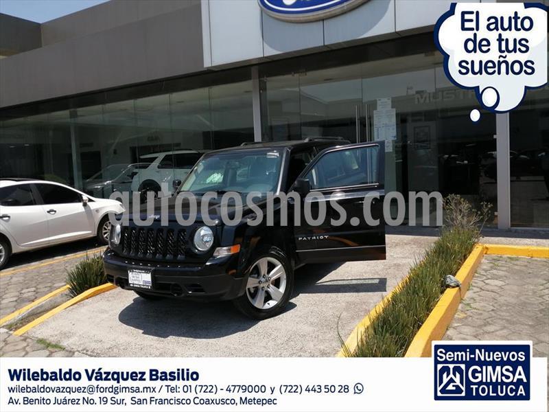 Jeep Patriot 4x2 Sport Aut usado (2017) color Negro precio $215,000
