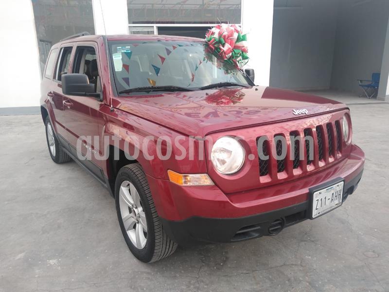 Jeep Patriot 4x2 Sport Aut usado (2016) color Rojo Cerezo precio $220,000