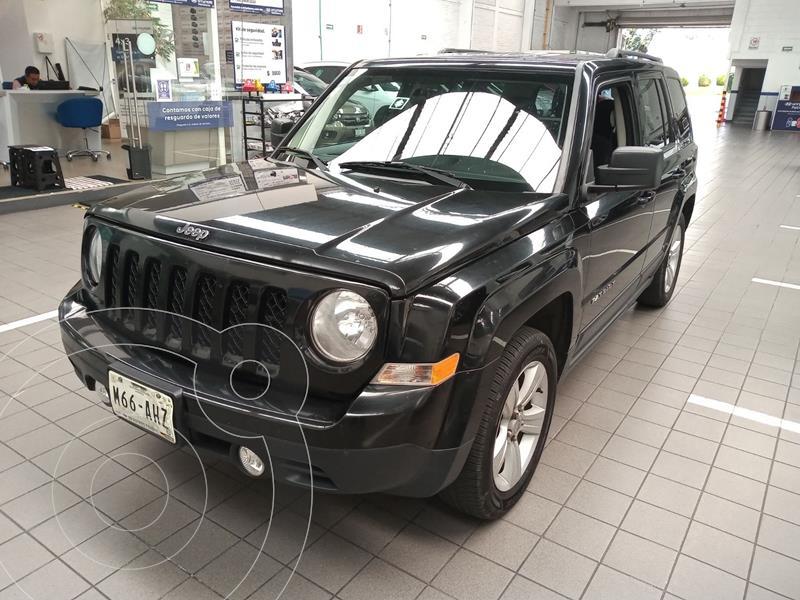 Jeep Patriot 4x2 Latitude Aut  usado (2016) color Negro precio $219,000
