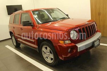 Jeep Patriot 5p Limited CVT 4x2 q/c usado (2010) color Rojo precio $145,000