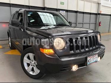 Jeep Patriot 5P LIMITED CVT VE6 CD PIEL QC GPS usado (2016) color Gris precio $275,000