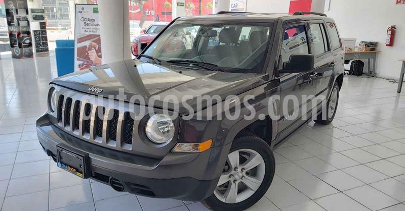 Jeep Patriot 5p Sport L4/2.4 Aut usado (2017) color Gris precio $209,900