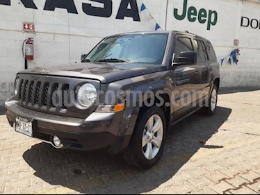 Jeep Patriot 5P LIMITED CVT VE6 CD PIEL QC GPS usado (2016) color Gris precio $295,000