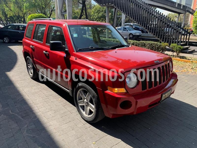 Jeep Patriot 4x2 Base usado (2008) color Rojo precio $108,000