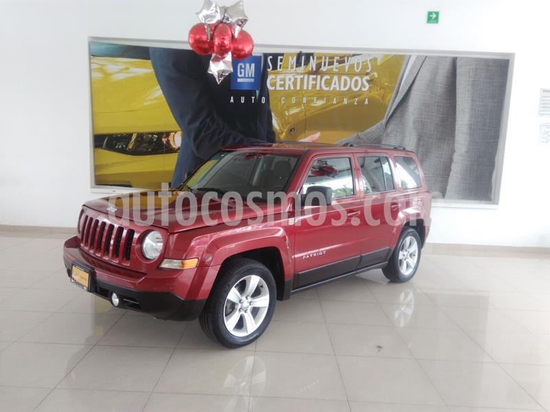Jeep Patriot 4x2 Latitude Aut  usado (2016) color Rojo precio $215,900