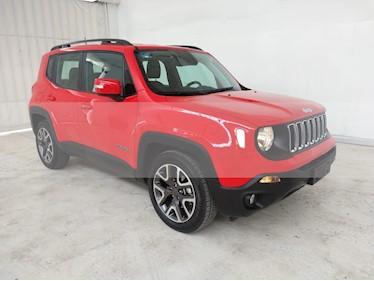 Jeep Renegade 4x2 Latitude Aut usado (2019) color Rojo precio $430,000