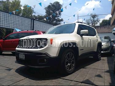 Foto venta Auto usado Jeep Renegade 4x2 Latitude Aut (2018) color Blanco Alpine precio $365,000