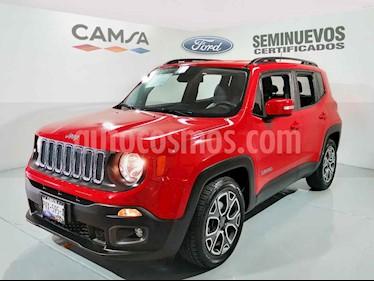 Foto Jeep Renegade 4x2 Latitude Aut usado (2018) color Rojo precio $354,900