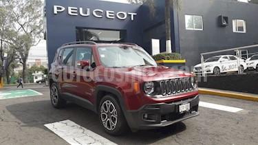 Foto Jeep Renegade 4x2 Latitude Aut usado (2017) color Rojo Cerezo precio $304,900