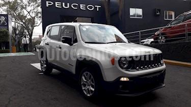 Foto venta Auto usado Jeep Renegade 4x2 Sport Aut (2017) color Blanco Alpine precio $279,900