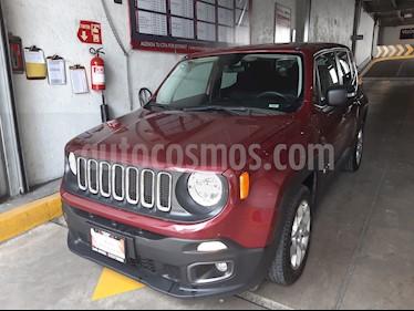 Foto venta Auto usado Jeep Renegade 4x2 Sport Aut (2017) color Rojo Cerezo precio $282,000