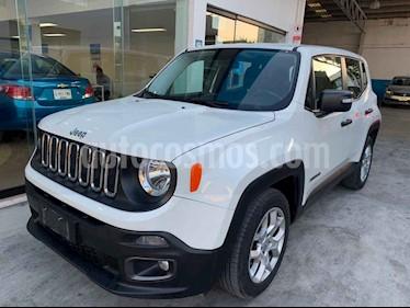 foto Jeep Renegade 4x2 Sport Aut usado (2018) color Blanco precio $297,900