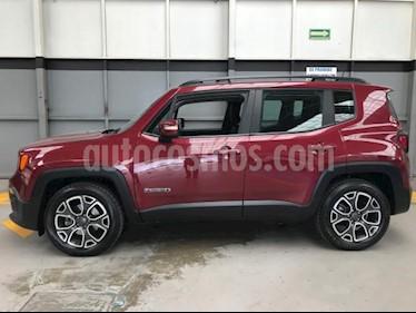 Jeep Renegade 5p Latitude L4/1.8 Aut usado (2018) color Rojo precio $350,000