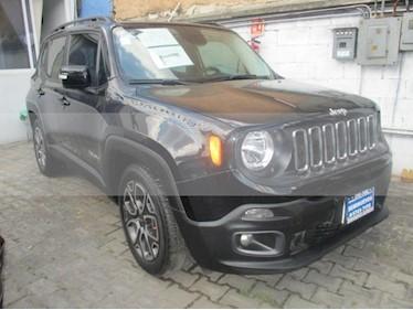 Foto venta Auto usado Jeep Renegade 5p Latitude L4/1.8 Aut (2018) color Negro precio $380,000