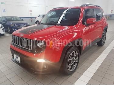 Foto venta Auto usado Jeep Renegade 5p Latitude L4/1.8 Aut (2018) color Rojo precio $349,000
